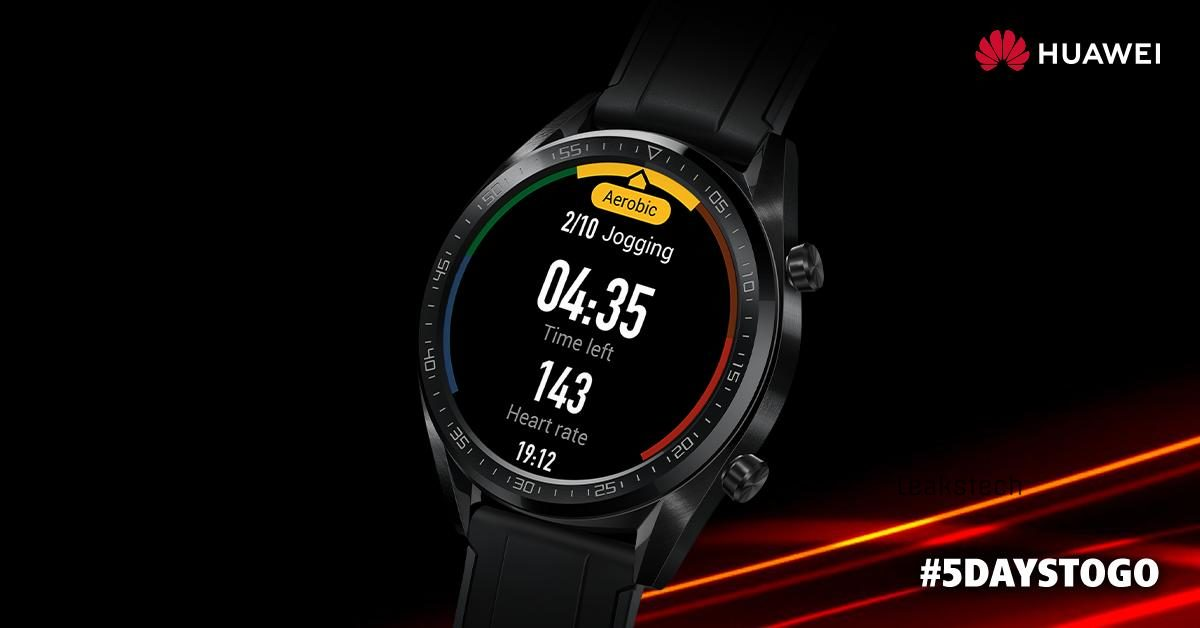 Huawei about to launch WatchGT for India with incredible battery life