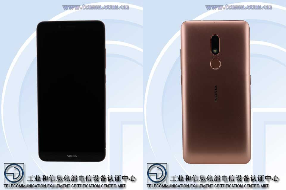 Nokia TA-1258, a budget phone revealed on TENAA with key specs and images